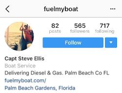 Follow Fuel My Boat on Instagram!